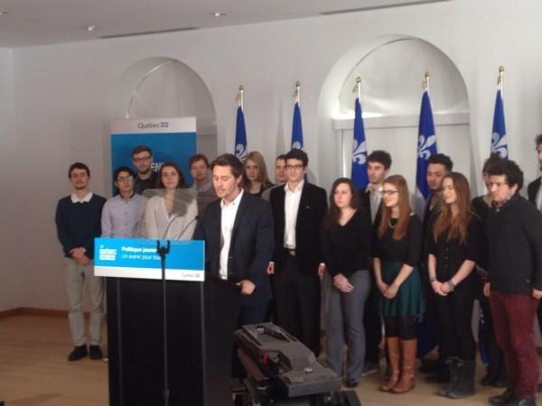 leo bureau blouin - politique jeunesse quebecoise