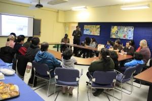 Journée de la persévérance scolaire, à l'école La Voie, le mercredi 15 février 2012