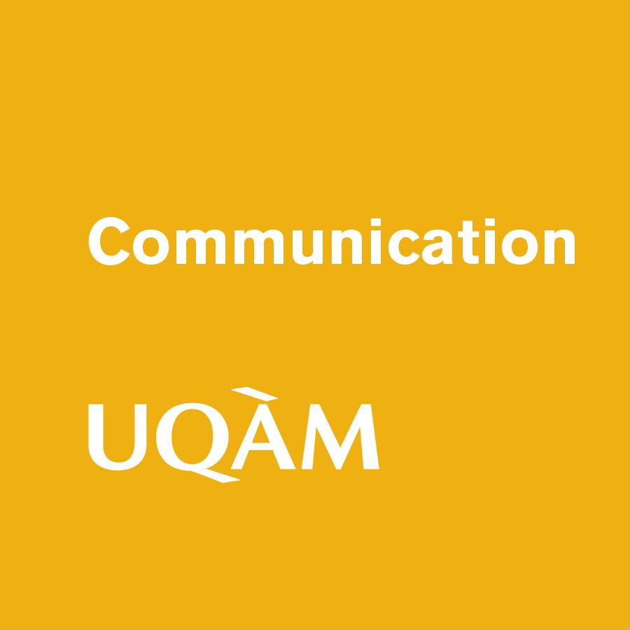 UQAM - Faculté de communication.
